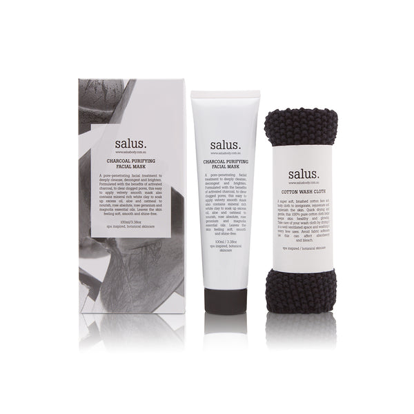 Charcoal Purifying Facial Mask Set