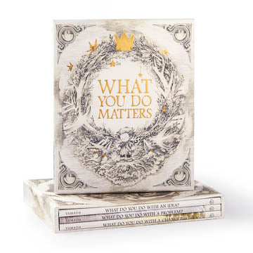 Boxed Gift Set of Books / What you Do Matters