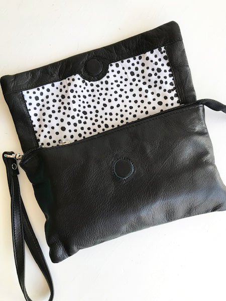 Black Lucie Bag / Clutch