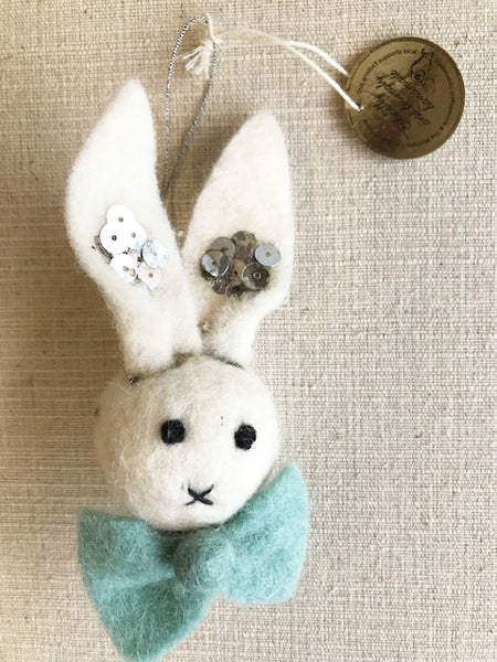 Felt Bunny Decoration
