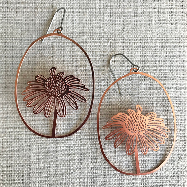 Daisy Dangles / Rose Gold