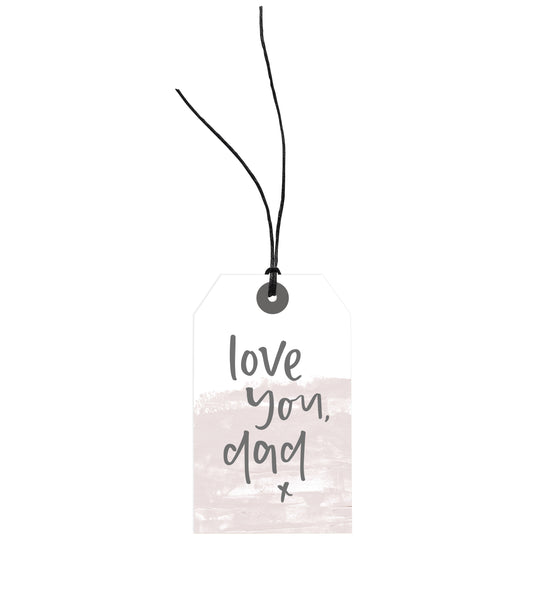 Gift Tag / Love You, Dad