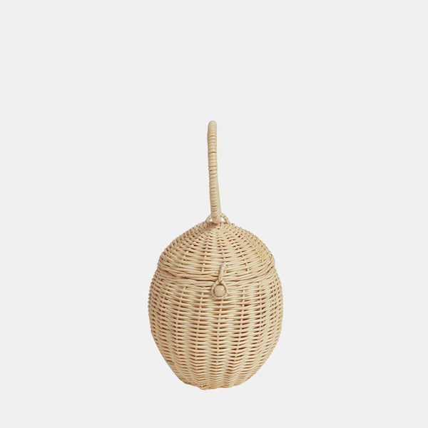 Rattan Egg Basket