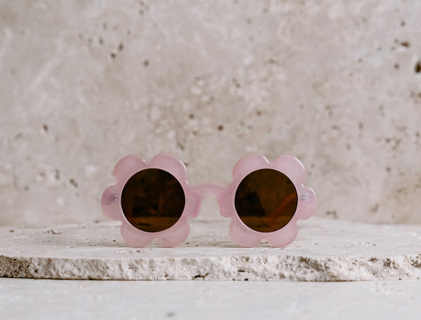Daisy Shaped Kids Sunglasses / Fairy Floss