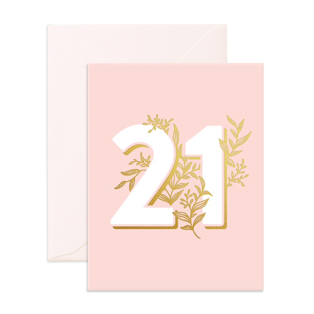 Greeting Card / Floral 21