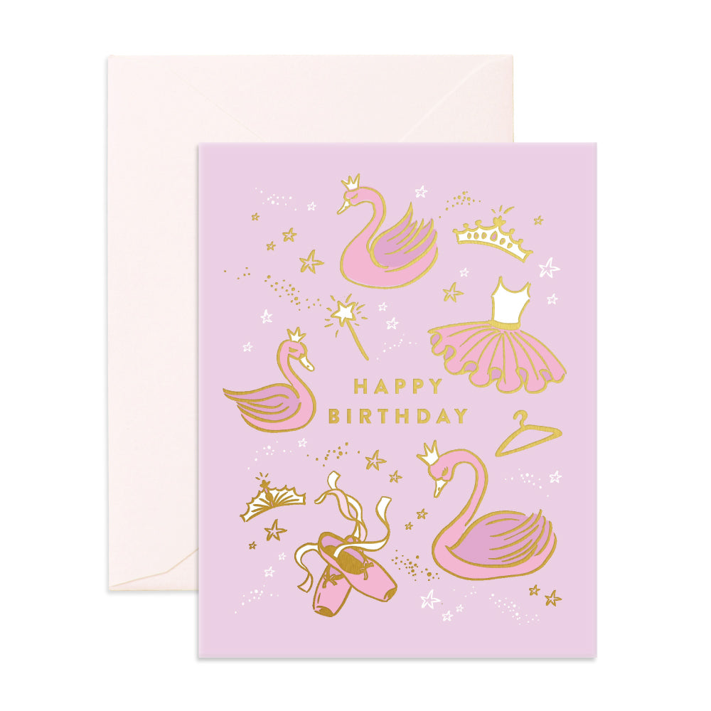 Greeting Card / Happy Birthday Ballet