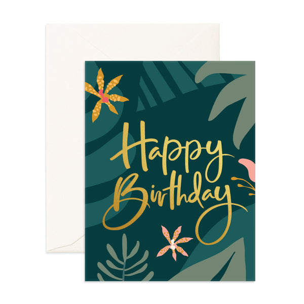 Greeting Card / Happy Birthday Jungle