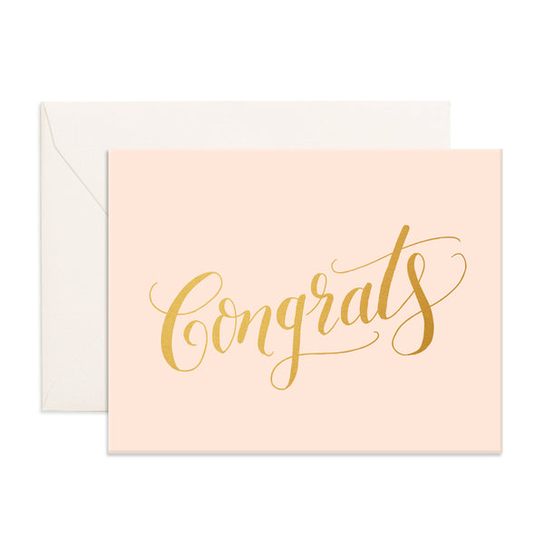 Greeting Card / Congrats