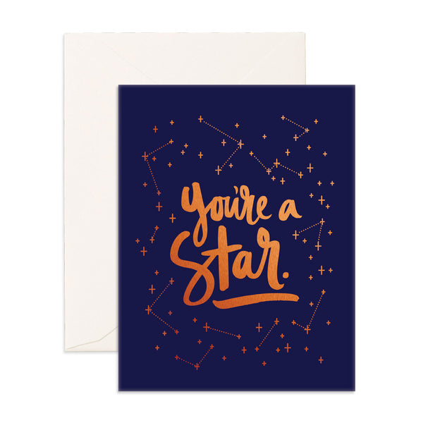 Greeting Card / You're a Star