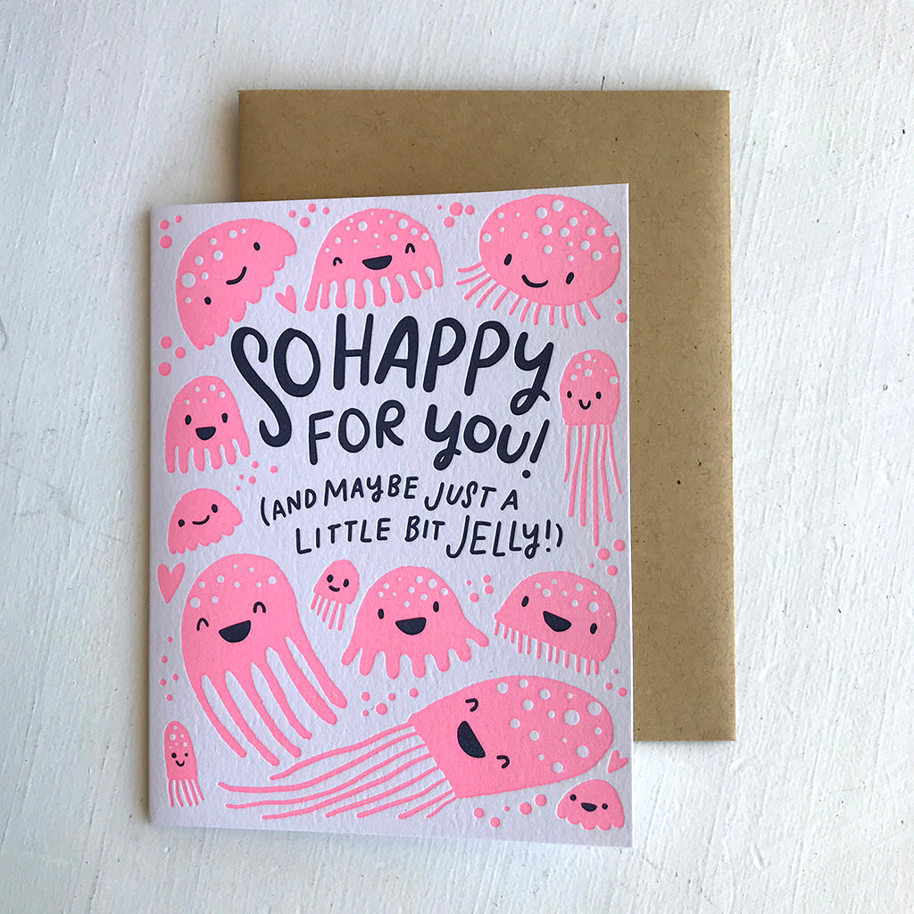 Greeting Card / So Happy For You!