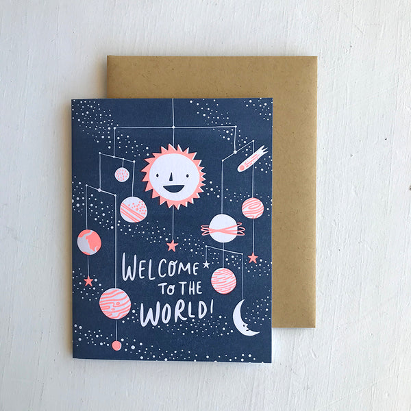 Greeting Card / Welcome to the World
