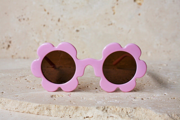 Daisy Shaped Children's Sunglasses / Ballet PInk
