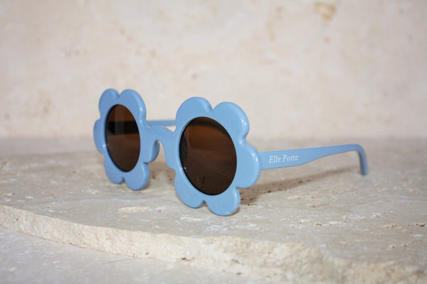 Daisy Shaped Children's Sunglasses / Denim