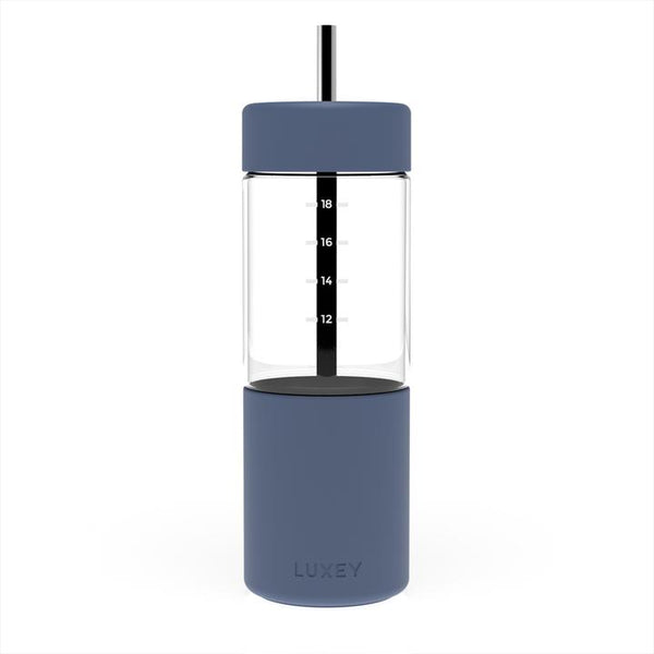 Smoothie Cup (up to 22 oz) Reusable Glass Cup / Element Blue