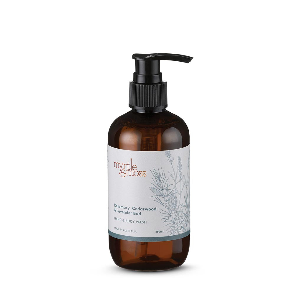 Hand and Body Wash 250ml / Rosemary, Cedarwood and Lavender Bud