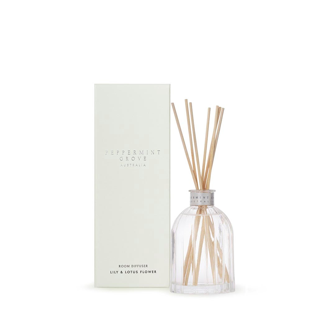 Peppermint Grove Mini Diffuser / Lily & Lotus Flower 100ml