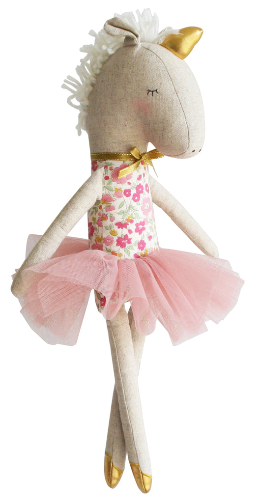 Yvette Unicorn Doll / Rose Garden