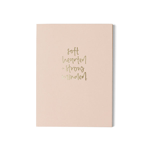 A6 Dot Grid Notebook / Soft Hearted