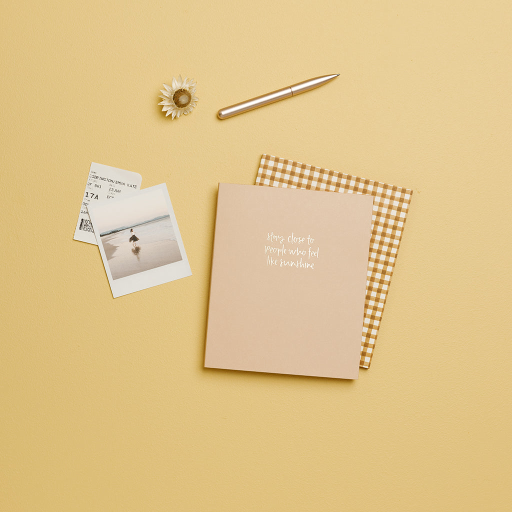 A5 Dot Grid Notebook / Like Sunshine