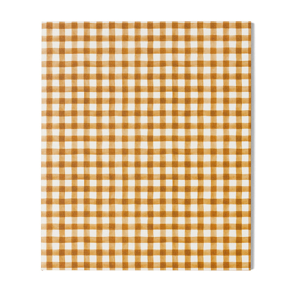 A5 Lined Notebook / Spiced Gingham