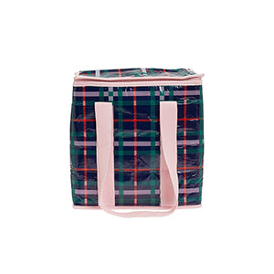 Mini Insulated Tote / Plaid