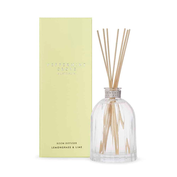 Peppermint Grove Diffuser / Lemongrass & Lime 350ml