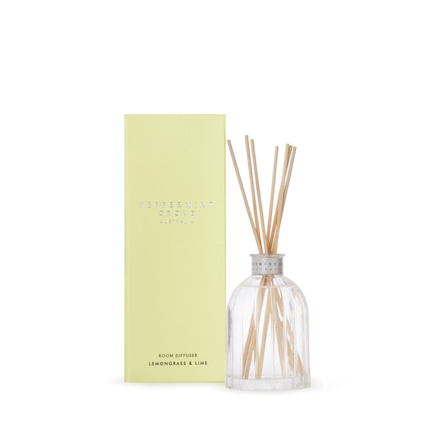 Peppermint Grove Mini Diffuser / Lemongrass & Lime 100ml