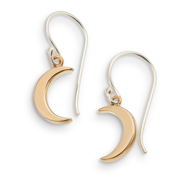 Petite Earrings / Moon