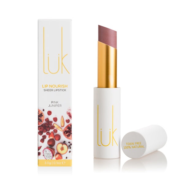 Lip Nourish Pink Juniper Natural Lipstick