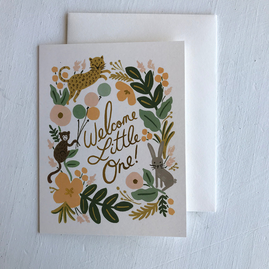 Greeting Card / Welcome Little One