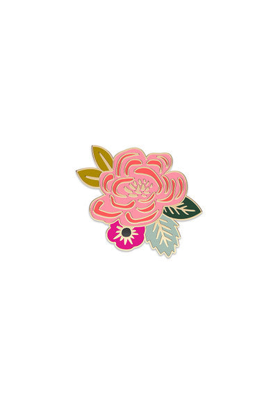 Enamel Pin / Juliet Rose