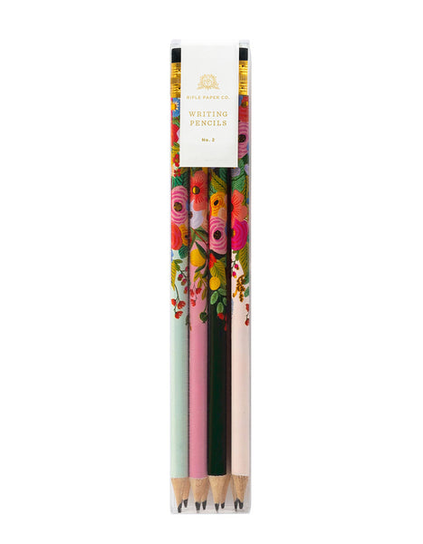 Graphite Pencils Pack of 12 / Garden Party