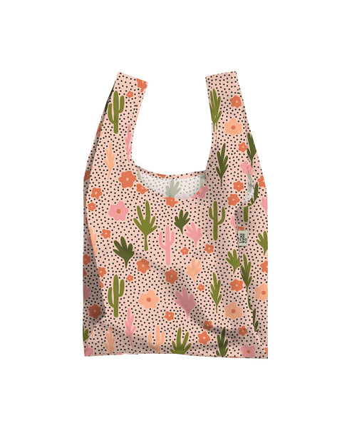 Blooming Cacti Reusable Shopping Bag