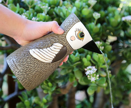 Watering can / Brown Bird
