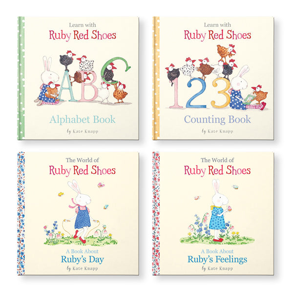 Book Set / Ruby Red Shoes - My First Library