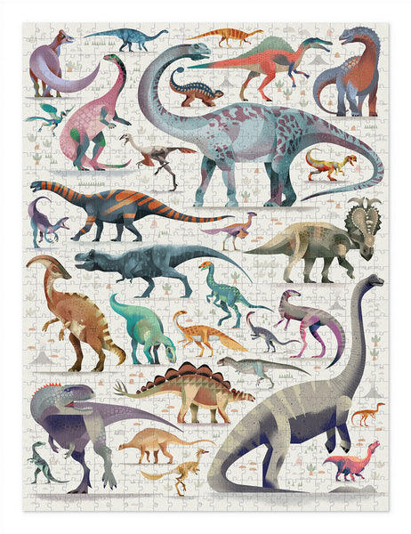 World of Puzzle 750 pc / Dinosaurs