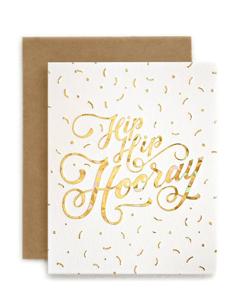 Greeting Card / 'Hip Hip Hooray'