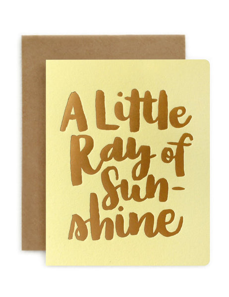 Greeting Card / 'A Little Ray of Sunshine'