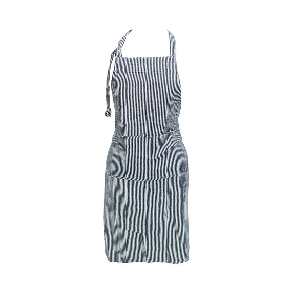Adjustable Apron / Classic Navy Stripe