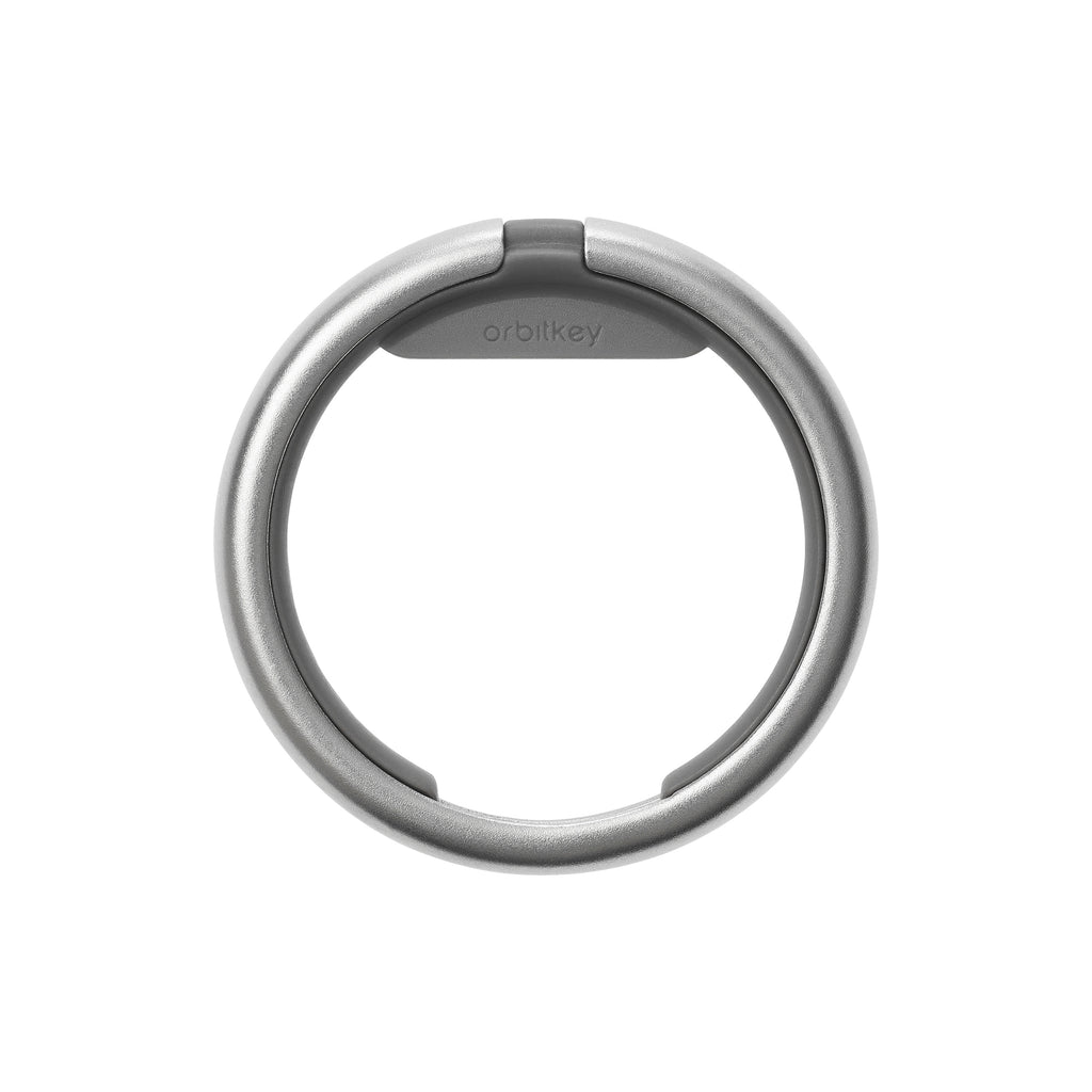 Orbit Keyring Single / Charcoal