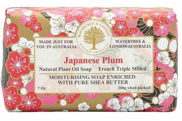 Japanese Plum Soap Bar 200g