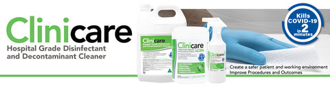 Clinicare Hospital Grade Disinfectant HGD Towelette / Refill (220)