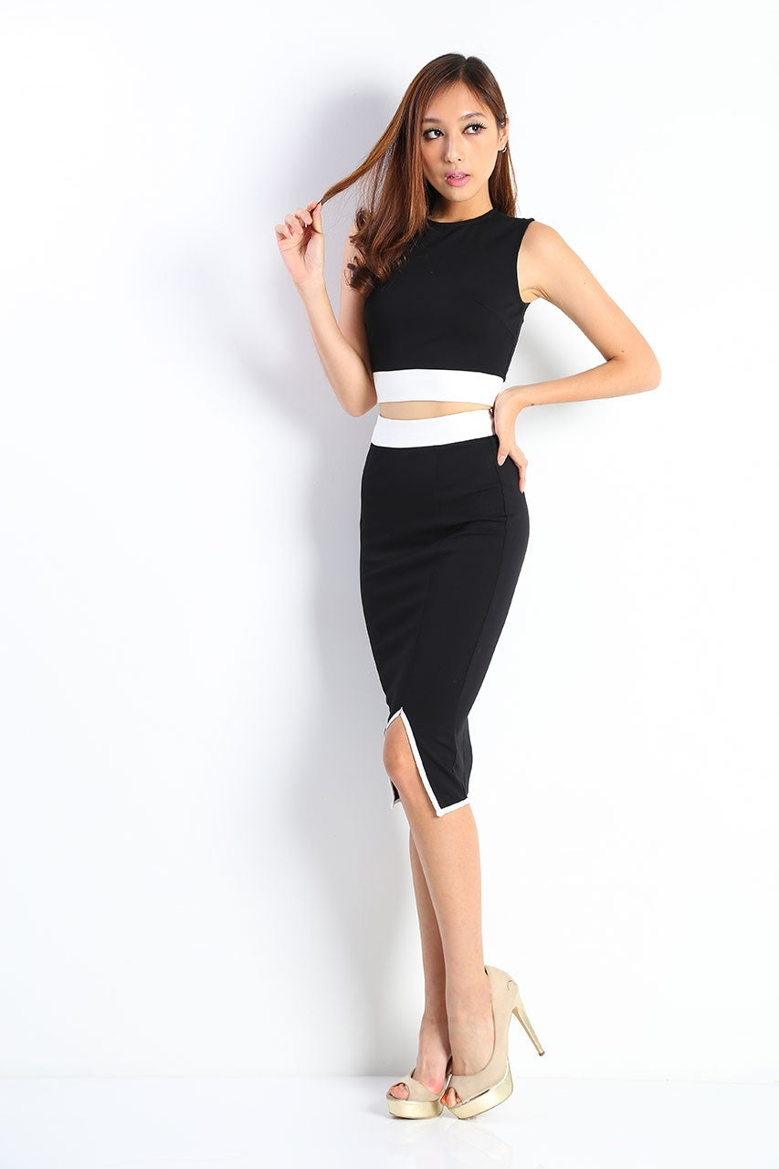 Kate Band Cropped Top