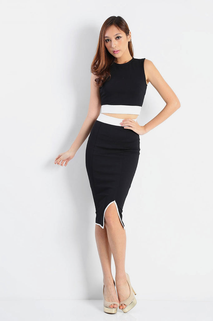 Kate Band Pencil Skirt