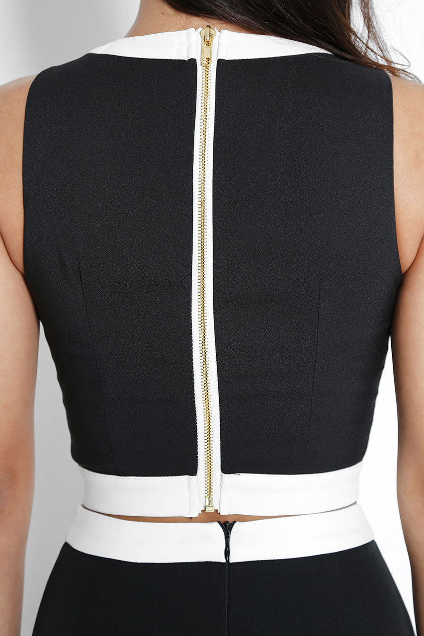 Enzo Cropped Top