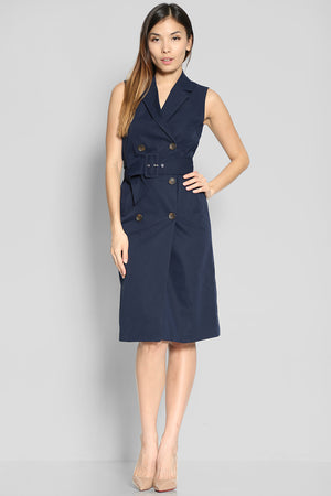 (SALE) Rafael Trench Dress