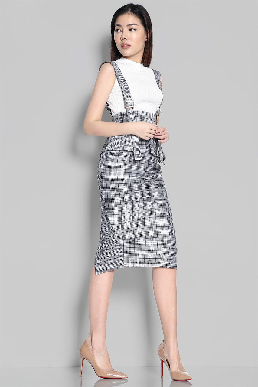 ALDRICH PINAFORE SKIRT
