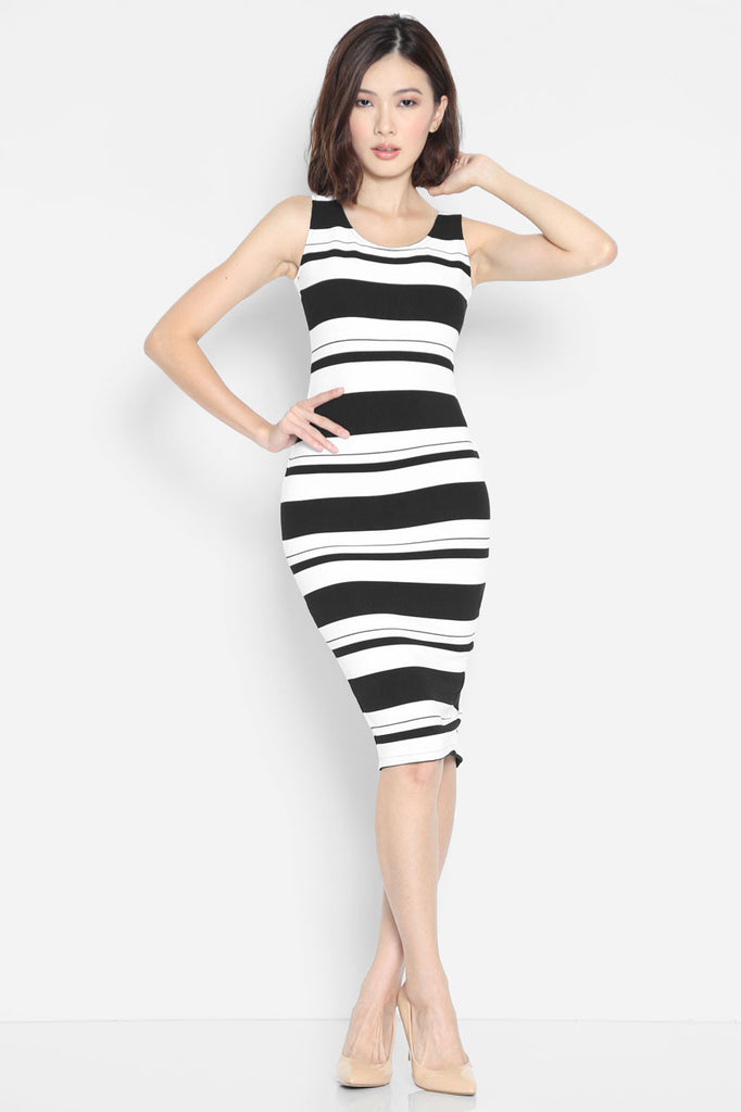 (SALE) Arabella Stripes Dress
