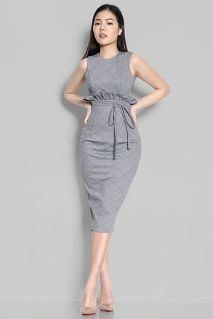 EVIANNA BROOKE PAPERBAG DRESS