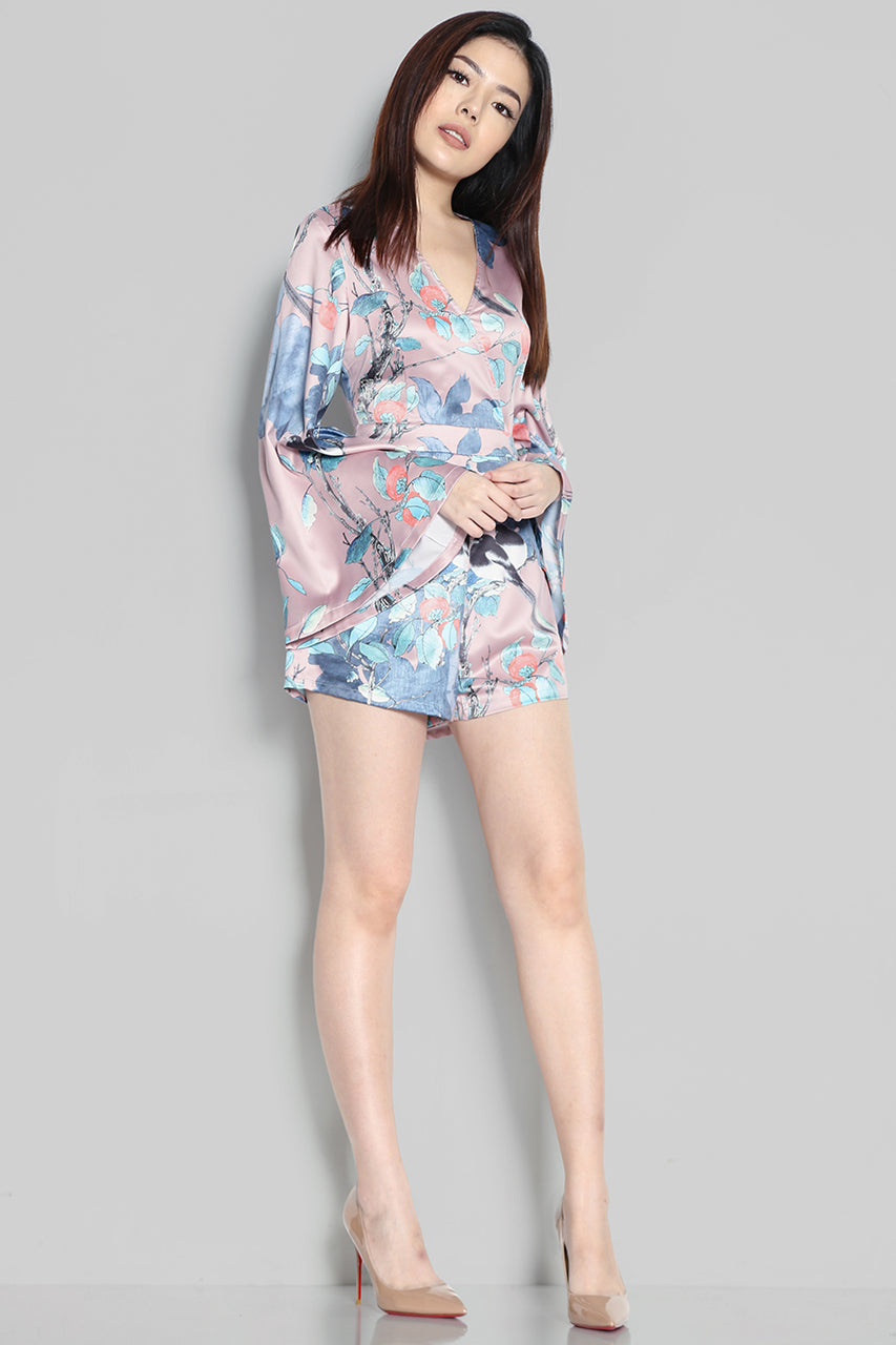 Oria Bird Playsuit